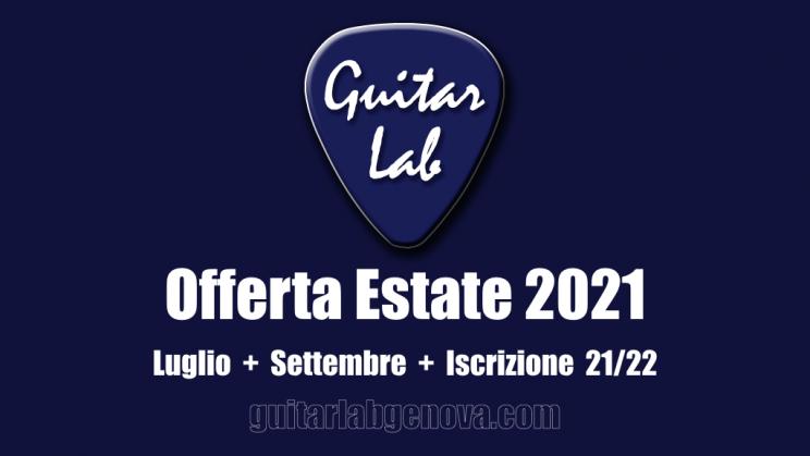 guitarlab offerta estate 2021